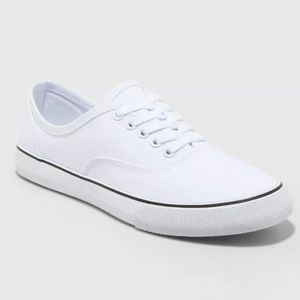 NWT Womens White Layla Lace Up Sneakers Size 11